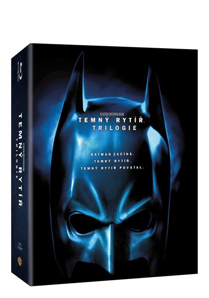 Temný rytíř trilogie Blu-ray - Christopher Nolan - 13x17 cm