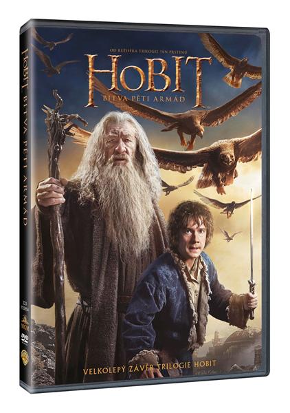 DVD Hobit: Bitva pěti armád - Peter Jackson - 13x19 cm