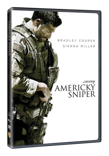 DVD Americký sniper - Clint Eastwood - 13x19 cm