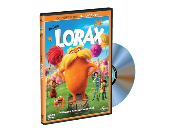 DVD Lorax - Chris Renaud, Kyle Balda - 13x19 cm