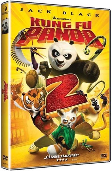 DVD Kung Fu Panda 2 - Jennifer Yuh - 13x19 cm