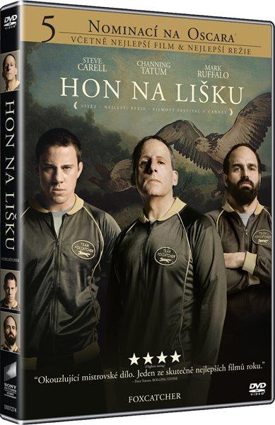 DVD Hon na lišku - Bennett Miller - 13x19 cm