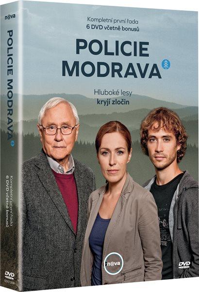 DVD Policie Modrava - seriál - Jaroslav Soukup - 13x19 cm