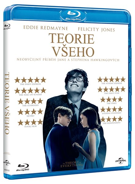 Teorie všeho Blu-ray - James Marsh - 13x17 cm