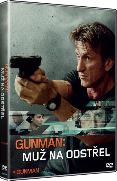 DVD Gunman: Muž na odstřel - Pierre Morel - 13x19 cm