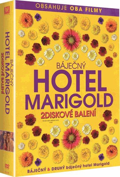 DVD Báječný hotel Marigold 1+2 - John Madden - 13x19 cm