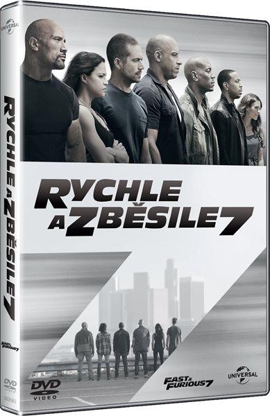 DVD Rychle a zběsile 7 - James Wan - 13x19 cm