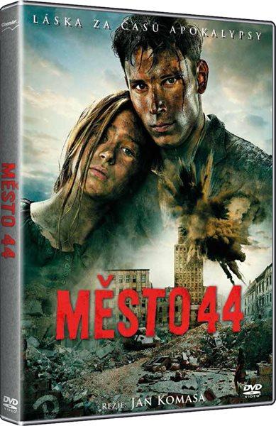 DVD Město 44 - Jan Komasa - 13x19 cm