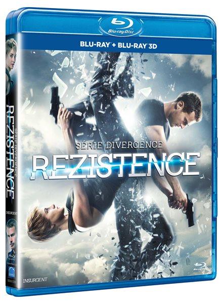 Rezistence Blu-ray + 3D Blu-ray - Robert Schwentke - 13x17 cm