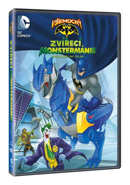 DVD Všemocný Batman: Zvířecí Monstermánie - Butch Lukic - 13x19 cm