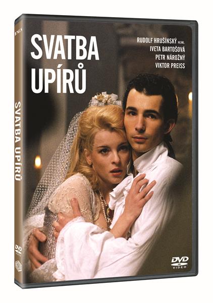 DVD Svatba upírů - Jaroslav Soukup - 13x19 cm