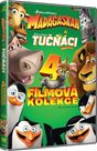 DVD Madagaskar 1-3 a Tučnáci z Madagaskaru