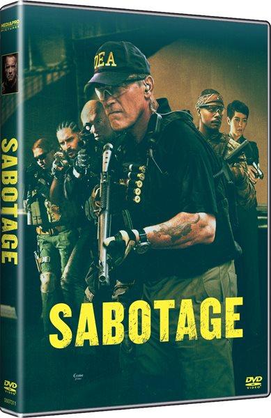 DVD Sabotage - David Ayer - 13x19 cm