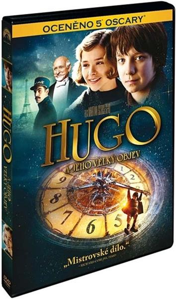 DVD Hugo a jeho velký objev - Martin Scorsese - 13x19 cm
