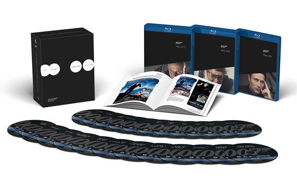 James Bond Premium Kolekce 2015 Blu-ray - Guy Hamilton, Terence Young, Marc Forster, Martin Campbell - 13x17 cm, Doprava zdarma