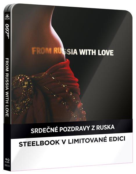 Srdečné pozdravy z Ruska Blu-ray - Terence Young - 14x17 cm