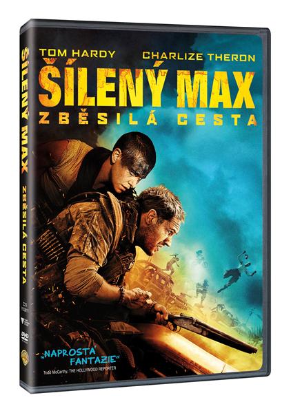 DVD Šílený Max: Zběsilá cesta - George Miller - 13x19 cm