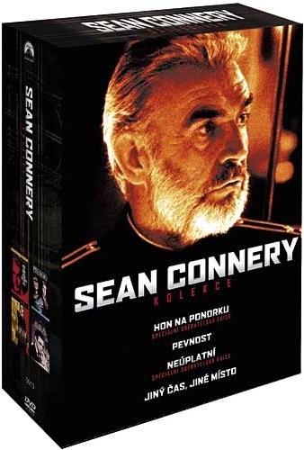 DVD Sean Connery kolekce - 13x19 cm