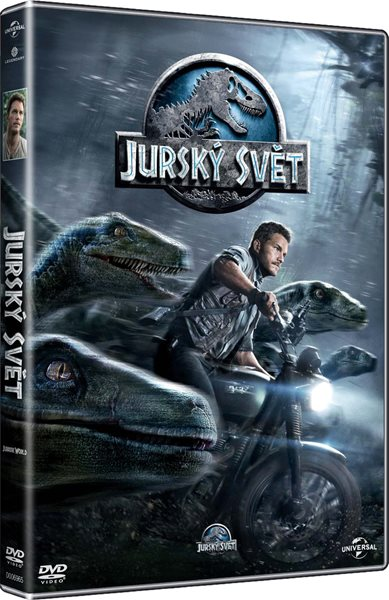 DVD Jurský svět - Colin Trevorrow - 13x19 cm