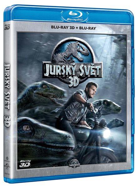 Jurský svět Blu-ray 3D + 2D - Colin Trevorrow - 13x17 cm