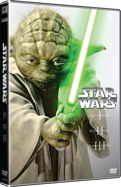 DVD Star Wars: Epizoda I - III - George Lucas - 13x19 cm