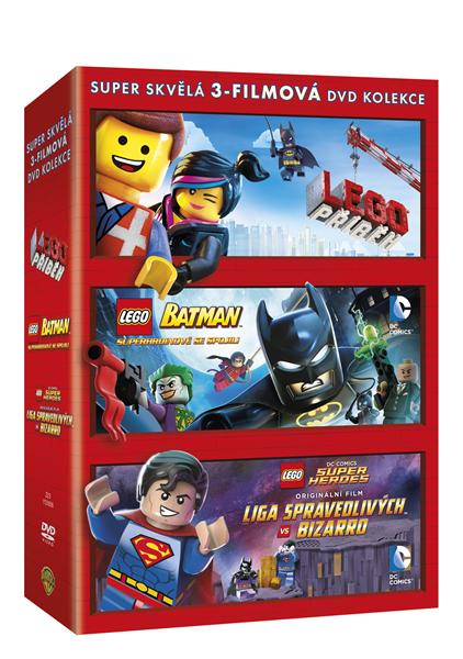 DVD Lego kolekce - 13x19 cm