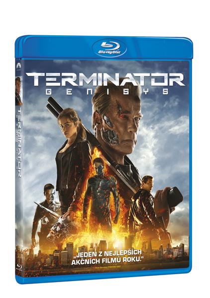 Terminator Genisys Blu-ray - Alan Taylor - 13x17 cm