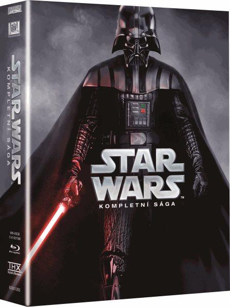 Star Wars - Kompletní kolekce filmů Blu-ray - 13x17 cm, Doprava zdarma