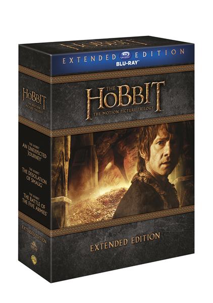 Hobit kolekce 1.-3. - prodloužené verze Blu-ray - 13x17 cm, Doprava zdarma