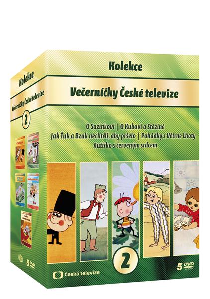 DVD Večerníčky kolekce 2. - 13x19 cm