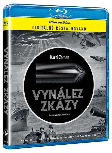 Vynález zkázy Blu-ray - Karel Zeman - 13x17 cm