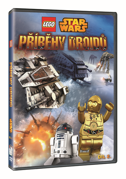 DVD Lego Star Wars: Příběhy droidů 2 - Michael Hegner, Martin Skov - 13x19 cm
