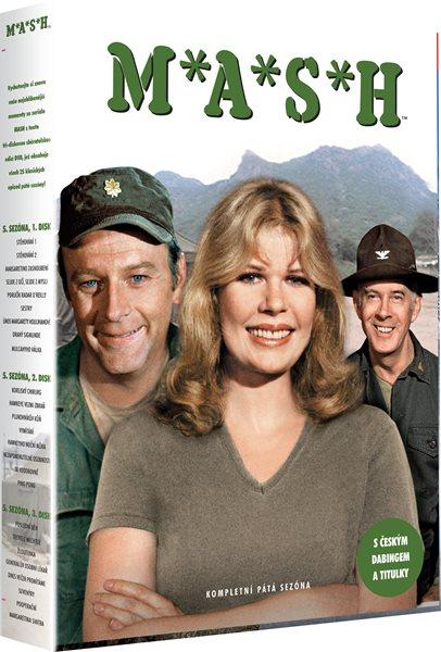 DVD M*A*S*H ( 5 sezóna ) - 13x19 cm