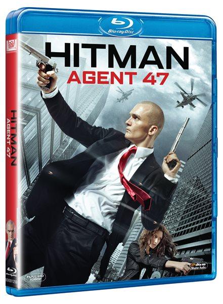 Hitman: Agent 47 Blu-ray - Aleksander Bach - 13x17 cm