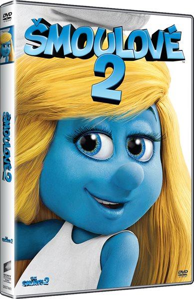 DVD Šmoulové 2 - Raja Gosnell - 13x19 cm