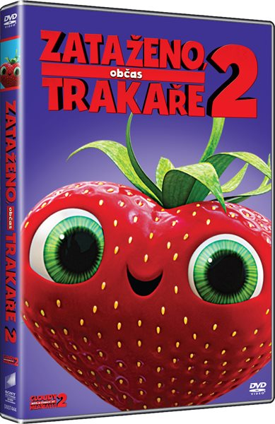 DVD Zataženo, občas trakaře 2 - Cody Cameron, Kris Pearn - 13x19 cm