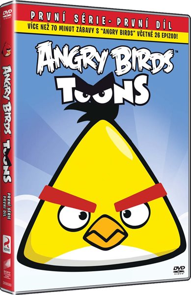 DVD Angry Birds Toons 1 - 13x19 cm