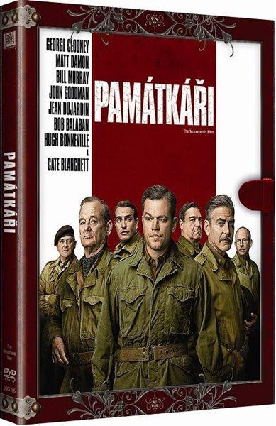 DVD Památkáři - George Clooney - 13x19 cm