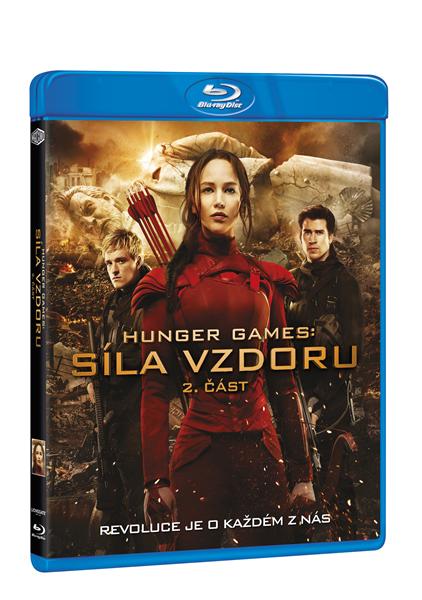Hunger Games: Síla vzdoru 2. část Blu-ray - Francis Lawrence - 13x17 cm