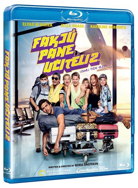 Fakjů pane učiteli 2 Blu-ray - Bora Dagtekin - 13x17 cm