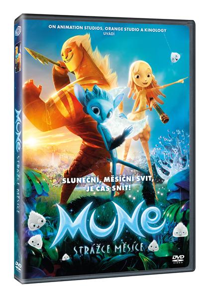 DVD Mune - Strážce Měsíce - Alexandre Heboyan, Benoît Philippon - 13x19 cm