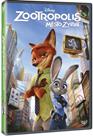 DVD Zootropolis: Město zvířat