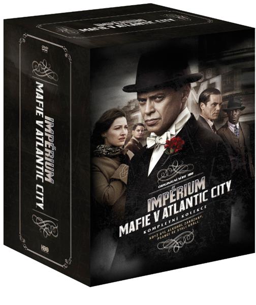 Impérium-Mafie v Atlantic City 1.-5. série 22DVD, Doprava zdarma