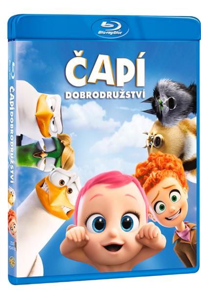 Čapí dobrodružství Blu-ray