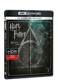 Harry Potter a Relikvie smrti - část 2. 2Blu-ray UHD+BD