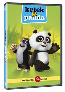 DVD Krtek a Panda 2