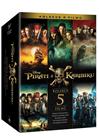 5 DVD Piráti z Karibiku kolekce 1-5