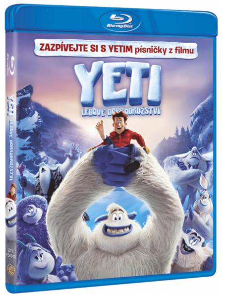 Yeti: Ledové dobrodružství Blu-ray