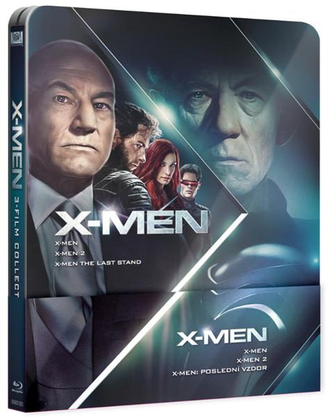 X-Men Trilogie 1-3, Steelbook 2016 Blu-ray