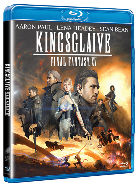 Kingsglaive: Final Fantasy XV Blu-ray